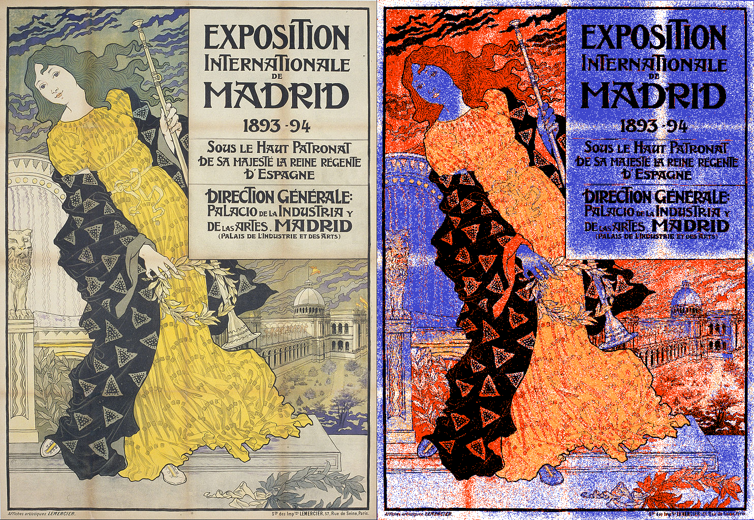 Exposition de Internationale, Madrid