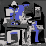 Picasso: Three Musicians