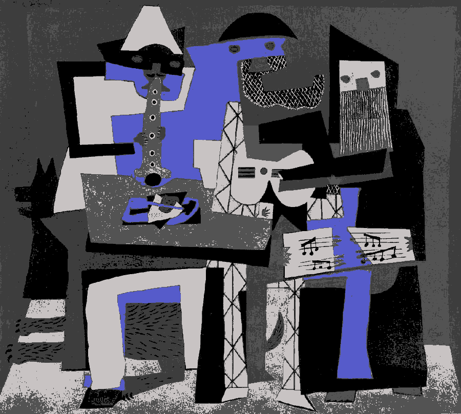 Picasso: Three Musicians