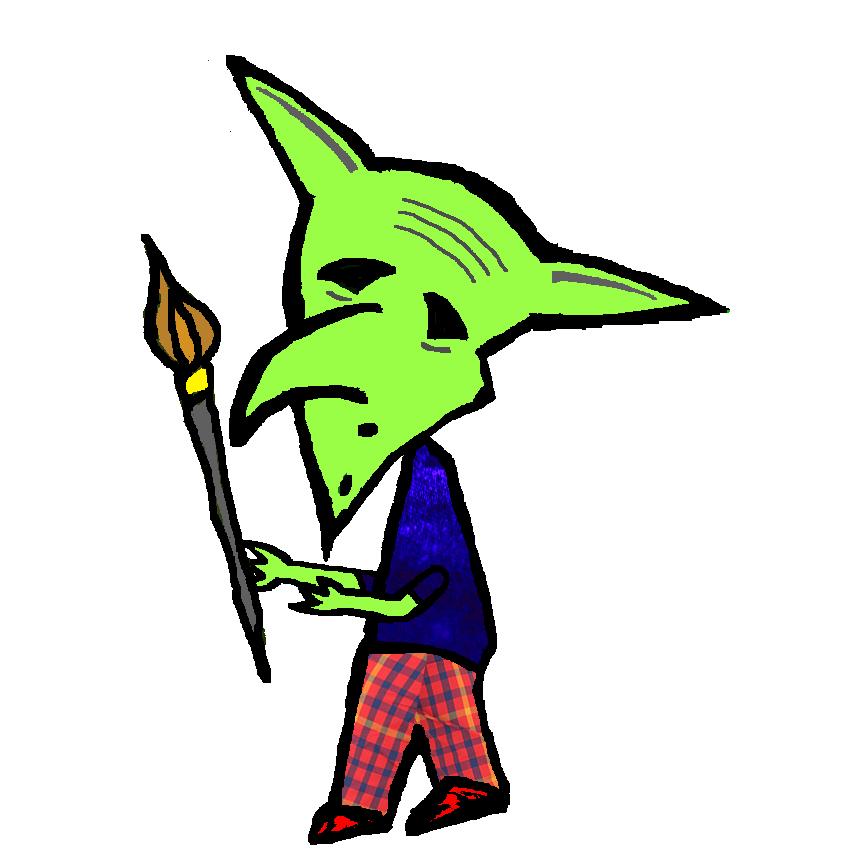 The Painter Goblin